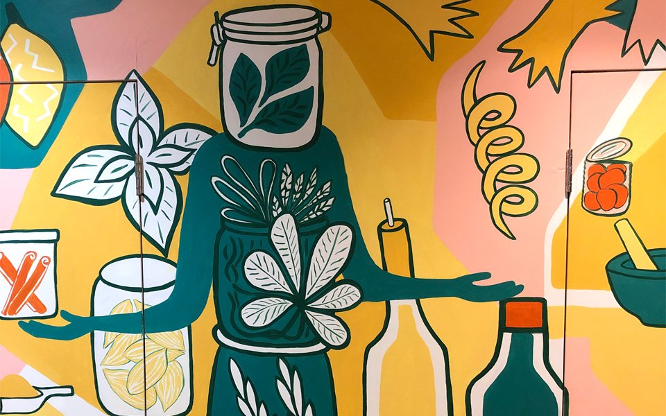 Coexist Community Kitchen Mural